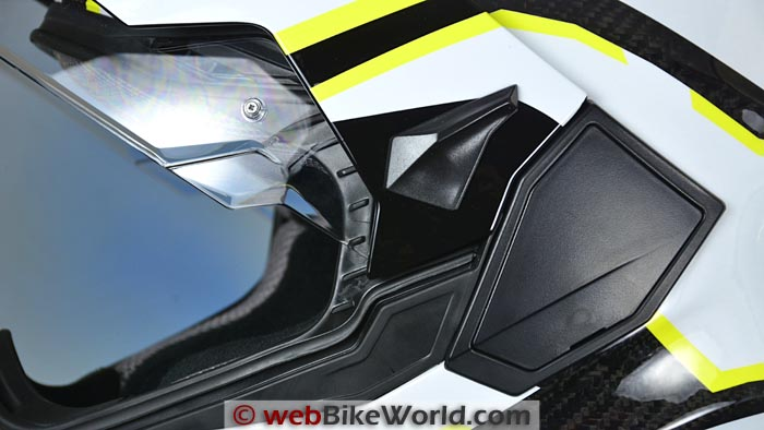 Touratech Aventuro Visor Lock
