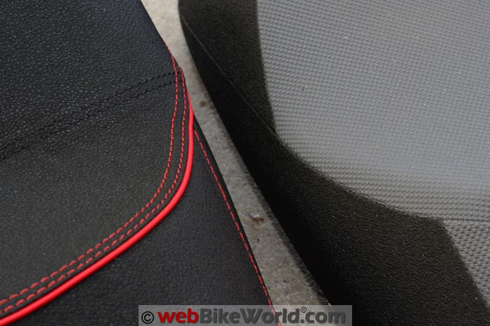 SHAD Suzuki V-Strom Seat Fabric Close-up