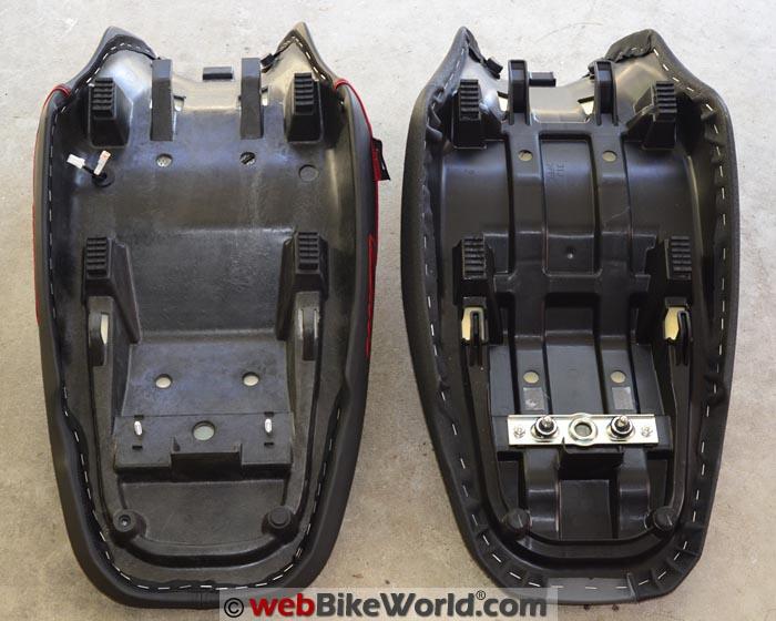 SHAD Suzuki V-Strom Seat Mounting