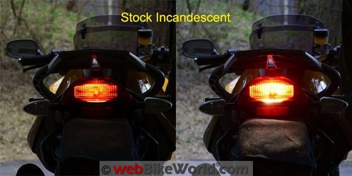 Stock Incandescent Brake Light