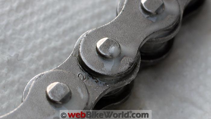Tirox Chain Wax Overspray