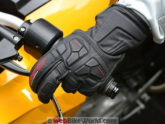 AGV Sport Gallant Gloves on Motorcycle