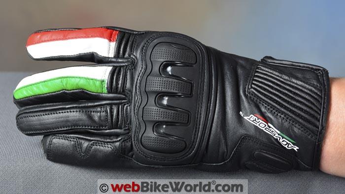 AGV Sport Spirit Gloves Top View