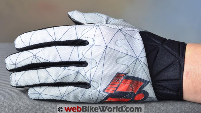 Icon Anthem Blender Gloves Top View