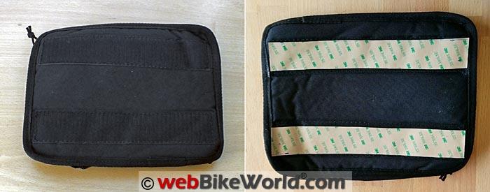 MotoPOCKET Side Case Bag Front Rear Views