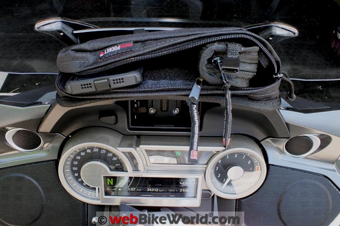 MotoPOCKET Windshield Bag