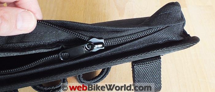 Motopocket Zipper Close-up