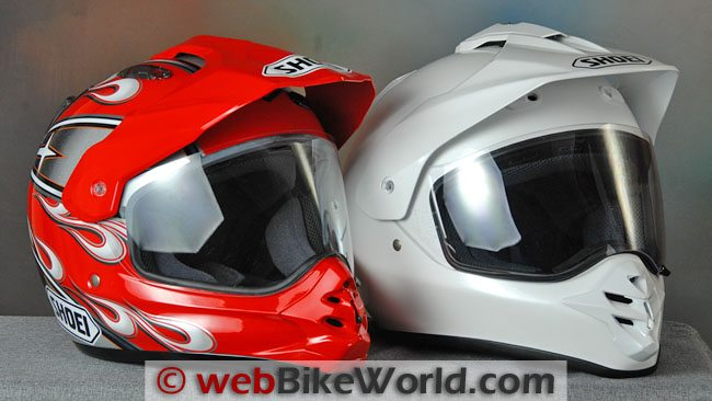 Shoei Hornet DS Helmet Japan vs. USA