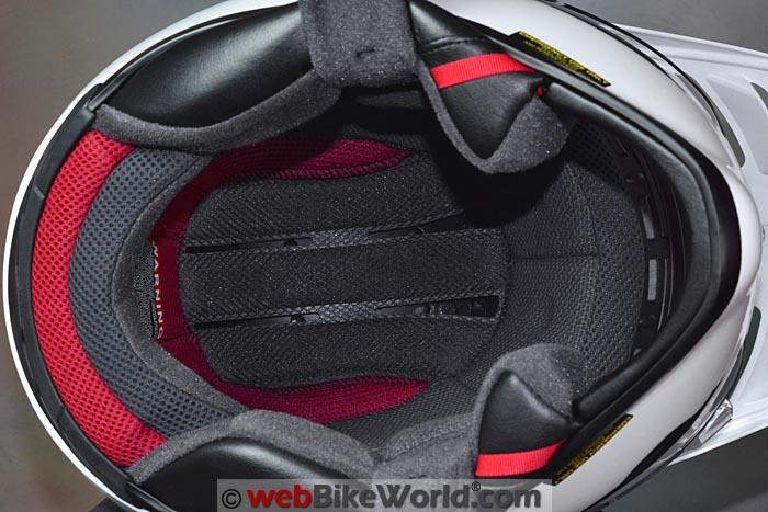 Shoei Hornet X2 Helmet Liner
