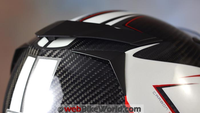 CMS GTRS Carbon Helmet Exhaust Vent