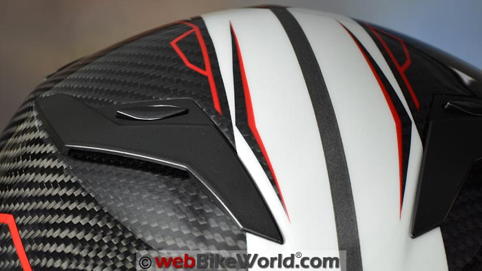 CMS GTRS Helmet Top Vents