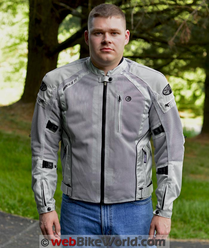 Joe Rocket Phoenix Ion Jacket Front View