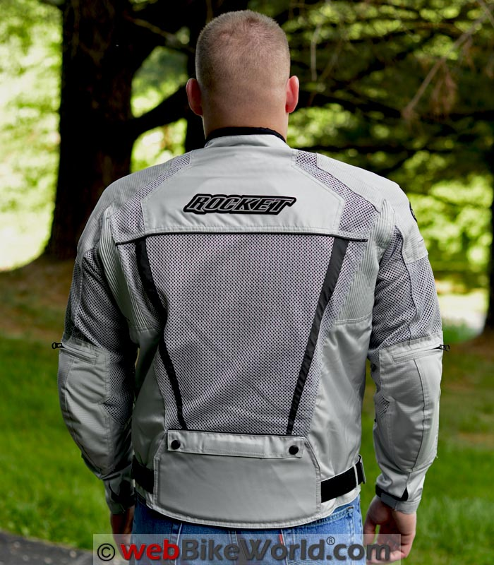 Joe Rocket Phoenix Ion Jacket Rear View