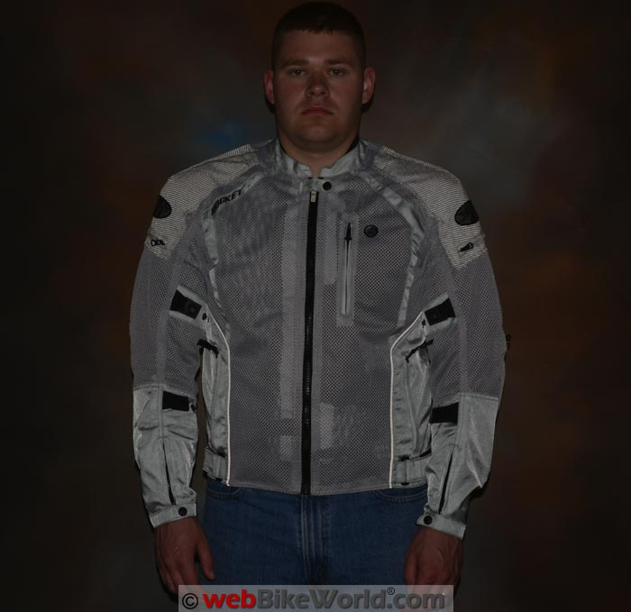 Joe Rocket Phoenix Ion Jacket Reflectivity Front View