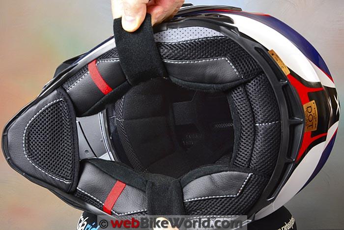 Nexx XD1 Helmet Liner