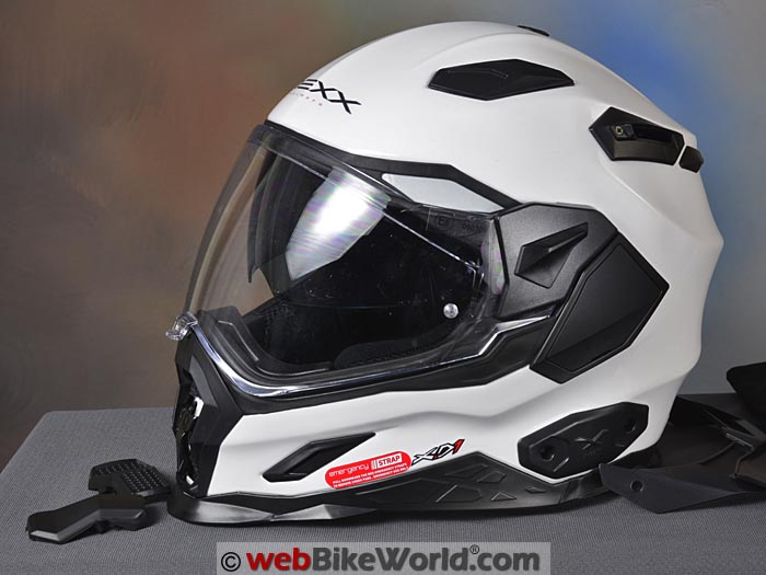 Nexx XD1 Helmet Without Peak
