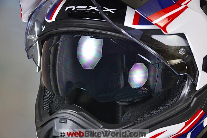 Nexx XD1 Sun Visor