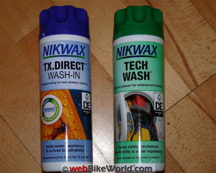 Nikwax TX Direct and Tech Wash