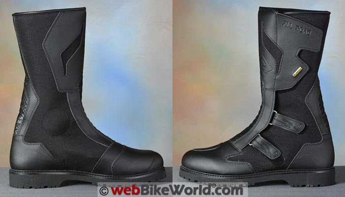 Sidi All Road Gore-Tex Boots Side Views
