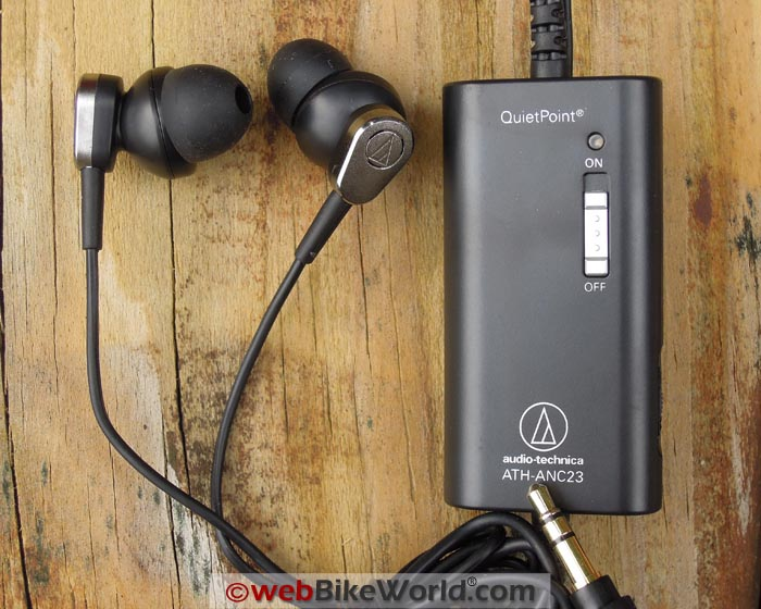Audio-Technica Noise Cancelling Earbuds Kit