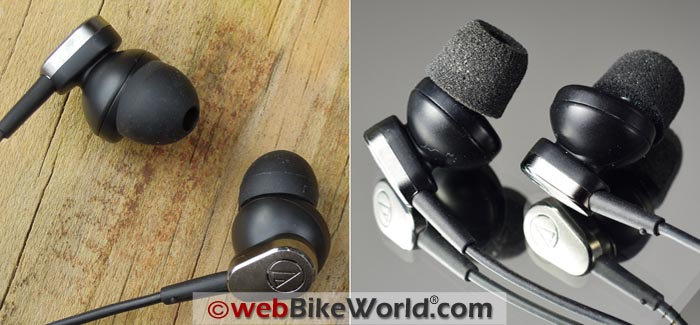 Audio-Technica Noise Cancelling Earbud Covers