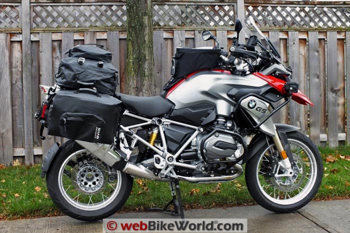 BMW R1200GS With SHAD SW42 and SW55