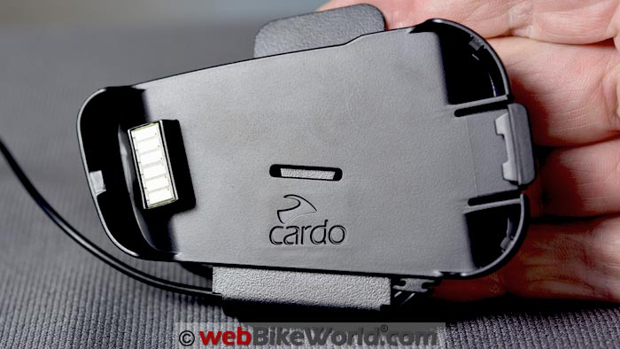 Cardo Packtalk Helmet Mount