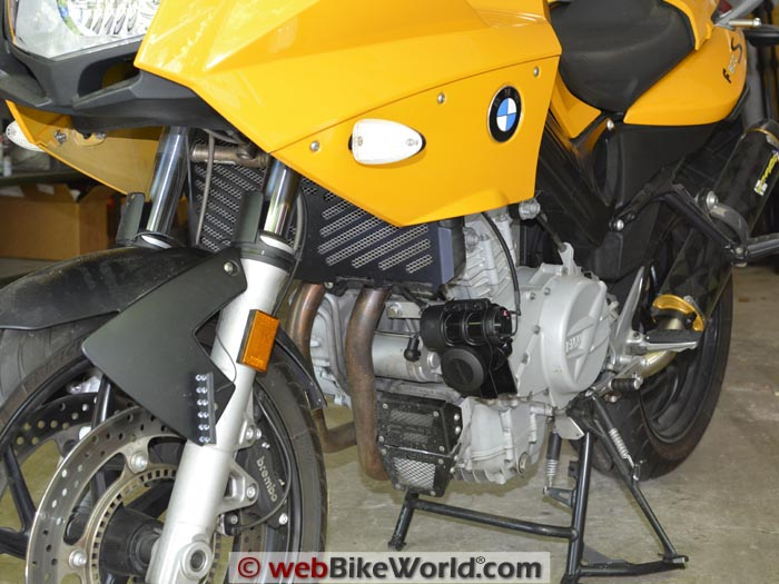 Denali Soundbomb Horn Mounted on BMW