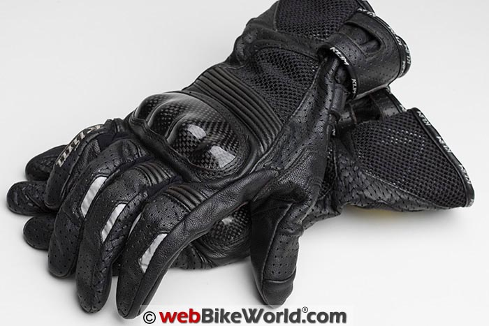 Klim Induction Gloves Top View