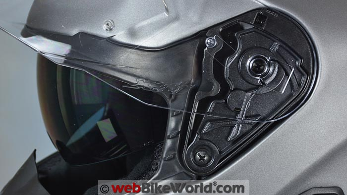 Nexx XT1 Face Shield Removal Mechanism