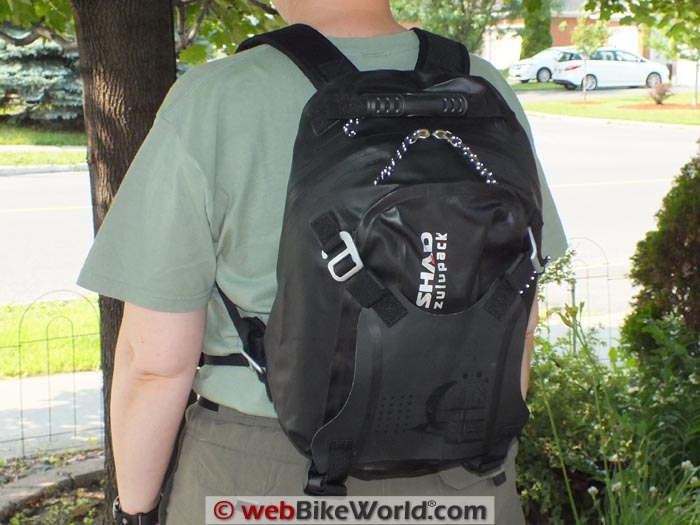 SHAD SW22 Backpack Conversion