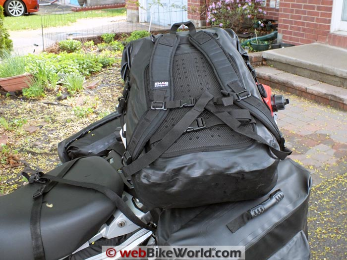 SHAD SW55 Backpack Conversion