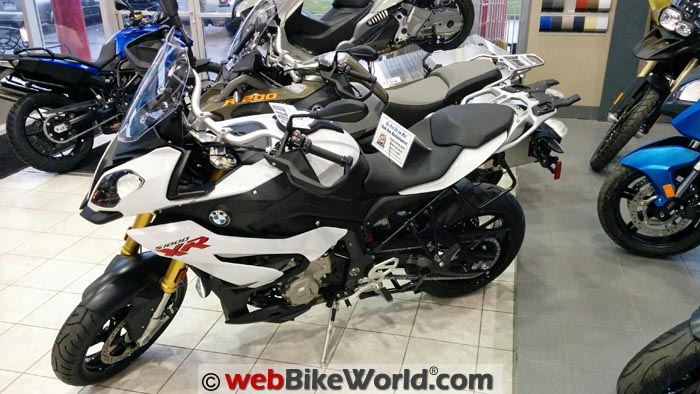 BMW S1000XR at the Shop