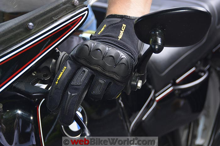 Held Sambia Gloves On Bike