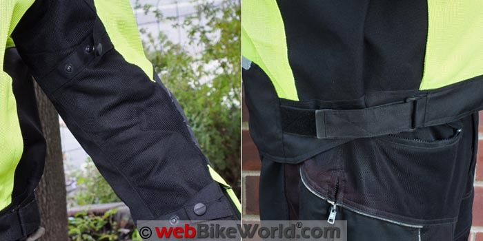 Pilot Visto Air Jacket Adjusters
