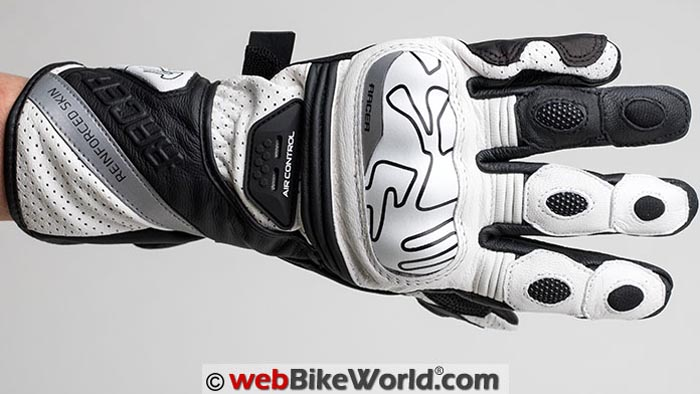 Racer Grip Gloves Top