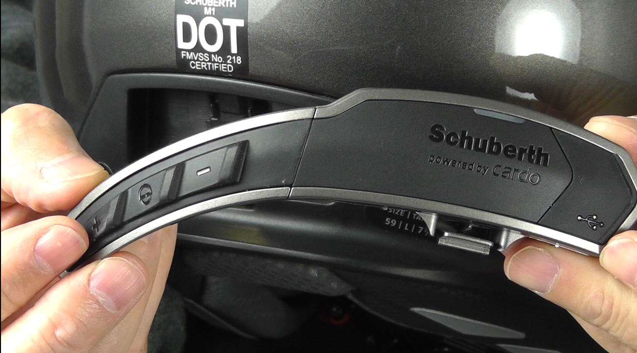 SCHUBERTH M1 SRC Intercom