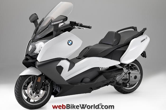 BMW C 650 GT White
