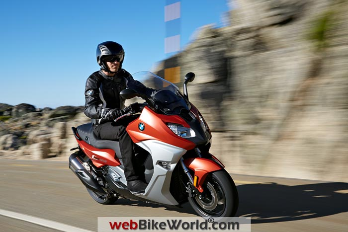 BMW C650 Sport Bronze Metallic