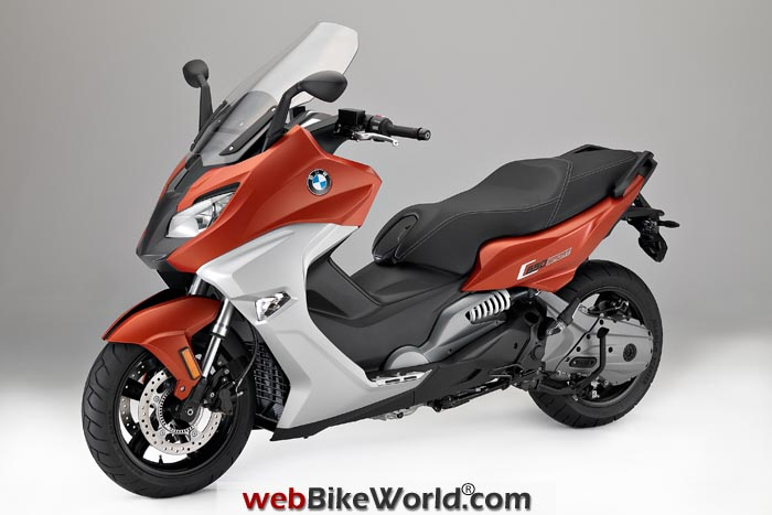 BMW C650 Sport Valencia Orange