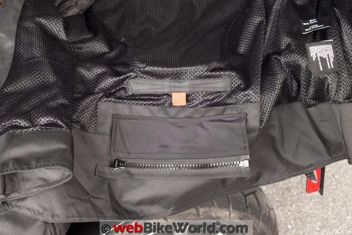 Pilot Slate Air Jacket Inside Zipper