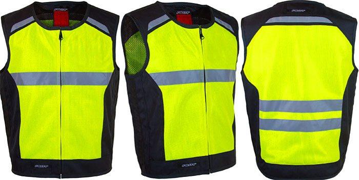 Pilot Vanguard Air High Visibility Vest Front Rear