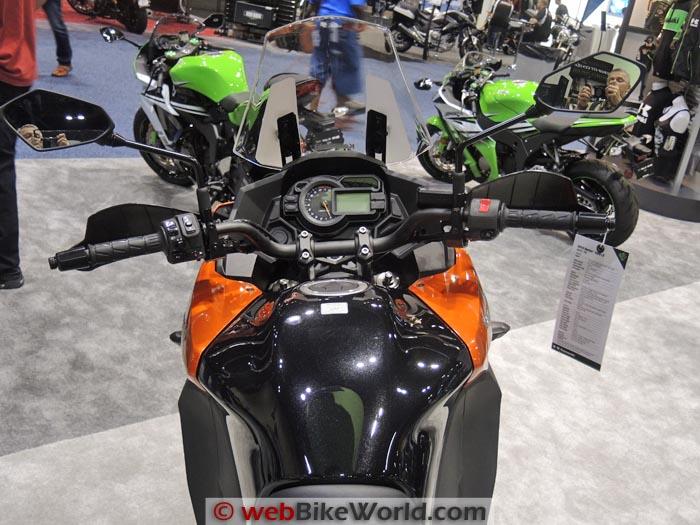 Kawasaki Versys 1000 Instruments