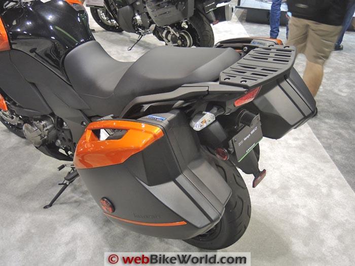 2015 Kawasaki Versys 1000 LT Luggage
