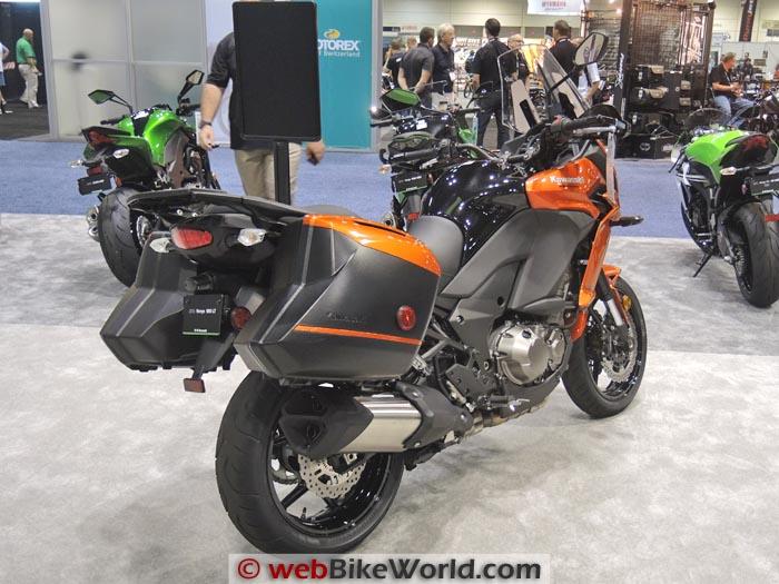 2015 Kawasaki Versys 1000 LT Rear View