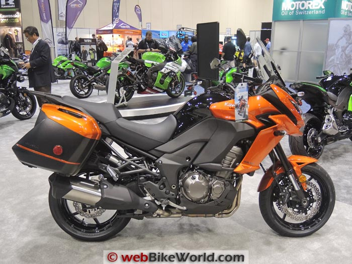 Kawasaki Versys 1000 Right