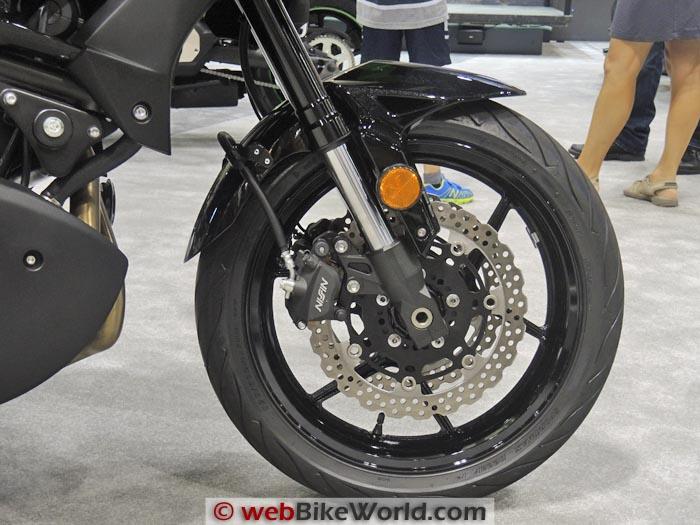 Kawasaki Versys 650 Front Wheel