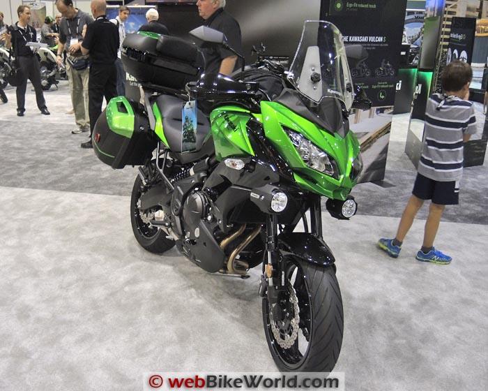 Kawasaki Versys 650 Front
