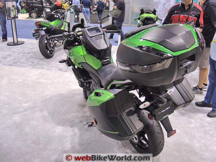 Kawasaki Versys 650 Luggage