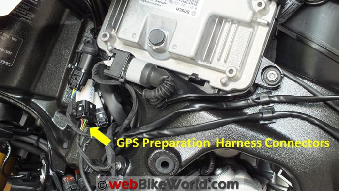 BMW GPS Preparation Harness Connector for S1000XR